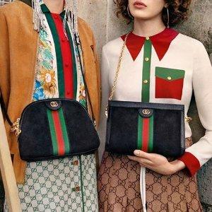 无门槛8折 £258收双G腰带Gucci 近期好价 Marmont、Ophidia、酒神包包都参加