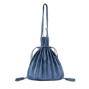 Lucky Pleats Shopper British Blue | JOSEPH&STACEY, US