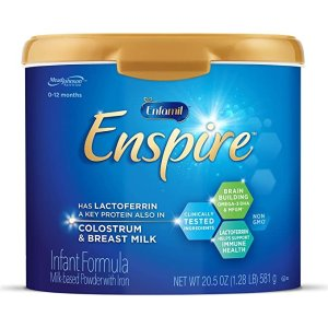 EnfamilEnspire Baby Formula Milk Powder, 20.5 Ounce (Pack of 1), Omega 3 DHA, Probiotics, Immune & Brain Support