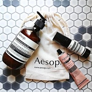 7.6折 £41收香芹籽精华闪购:Aesop 全线护肤11.11闪促 油痘肌都爱的天然护肤品牌