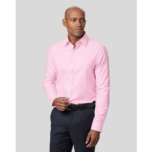 Charles Tyrwhitt3 pieces for $117Non-Iron Twill Shirt - Pink