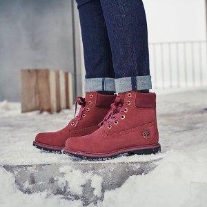 低至$29.03 清仓价额外75折今晚截止:Timberland 清仓区特卖 低价收经典雪靴