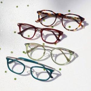 全场7折 $18.9收Gucci透明框平替牛年好礼:Eyebuydirect 眼镜、墨镜热卖 无需处方get大牌平替