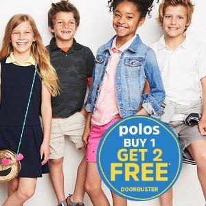 Free shipping + 65% Off Graphic Tees + Extra 30% off $75+ + Buy 1 Get 2 FreeSchool Uniform Basics @ OshKosh BGosh