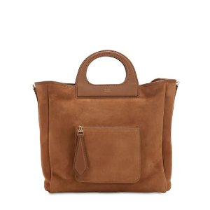 Max Mara麂皮手提包