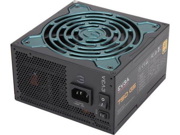 EVGA SuperNOVA 750 G5 750W 80Plus 金牌 全模组电源