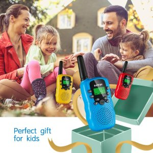 $36.35(原价$42.77)3支装SANJOIN 儿童对讲机 支持22频道 户外游玩欢乐多