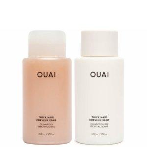 7.5折 €37收丰盈蓬松洗发水洗发护发两件套上新:OUAI 全场大促 INS风颜值超高 维密超模同款 蓬松秀发