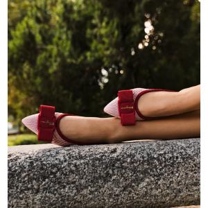 Salvatore Ferragamo上新Viva 芭蕾平底鞋