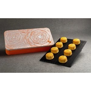Wing Wah Molten (Lava) White Lotus Seed Paste Mooncake, 8 pcs