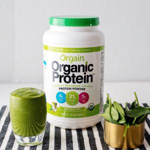 $16.19 (原价$26.99) 纯天然有机Orgain 有机代餐植物蛋白粉香草口味 2.03磅