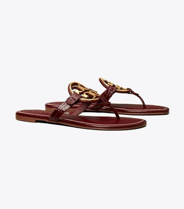 Miller Logo凉鞋
