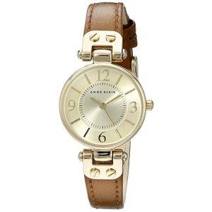 Anne KleinWomen's 10/9442 Leather Strap Watch