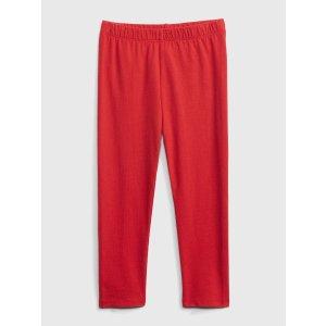 Gap宝宝--小童 红色打底裤