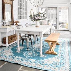 额外8折Lulu & Georgia 全场地毯促销 超多尺寸及花色