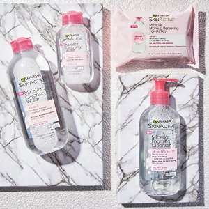 Starting at $6.26Garnier SkinActive Micellar Cleansing Water All-in-1 Cleanser & Makeup Remover, 13.5 Fluid Ounce