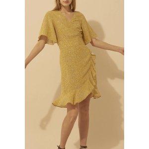 BA&SHBelina Dress, Curry