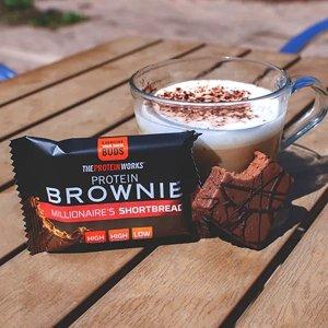 4种口味可选蛋白布朗尼