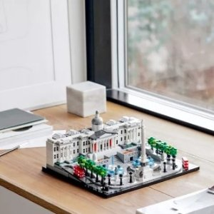 包邮 满额送可爱方头仔+果汁吧上新:LEGO官网 建筑系列热卖,半米多高的帝国大厦新到