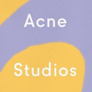 满$885减$175 收笑脸帽最后一天:Acne Studios 专场新品好价特卖 收logo围巾 笑脸卫衣