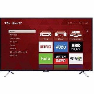 "$249.99TCL 55"" Class 4K (2160P) HDR Roku Smart LED TV (55S401) Refurbished"