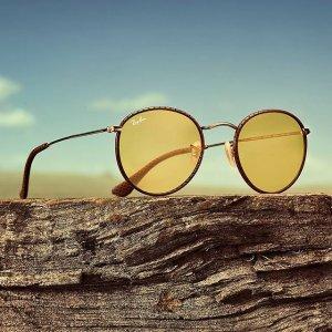 1件7折,2件6折Ray-Ban、Oakley、Tiffany& Co等大牌多款墨镜上新,收新款太阳眼镜