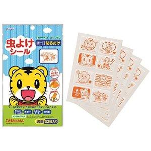 约€4.35 价格不含税费、邮费Skater 防虫贴纸 巧虎 32P 日本制造