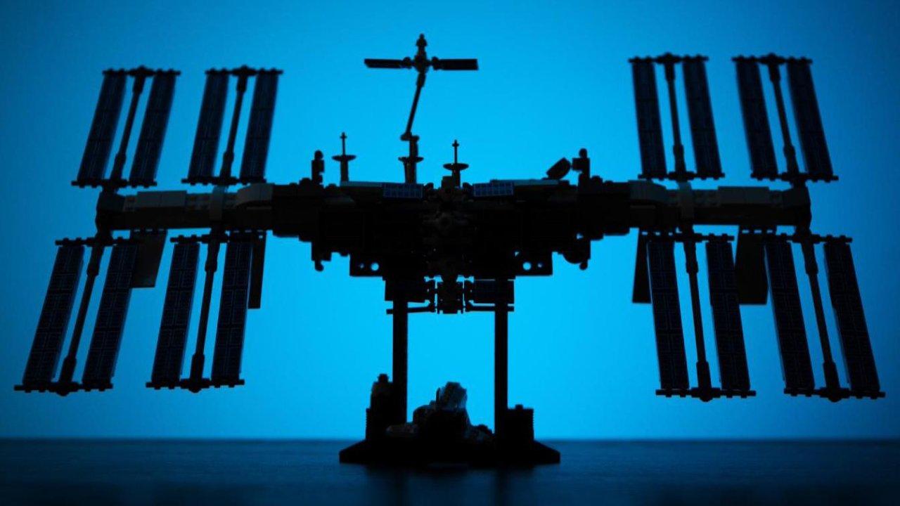 把我太空梦圆了的👉🏻乐高·国际空间站🛰拼装体验及展示