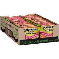 Maruchan 辣味虾口味方便面 3.0 Oz 24袋装