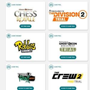 FreeUbisoft Free Events