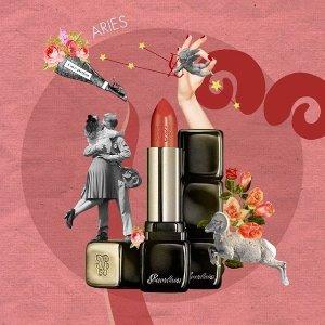 $22(原价$37)Guerlain 精选Kiss Kiss 系列口红5.9折热卖 收可爱小心心系列
