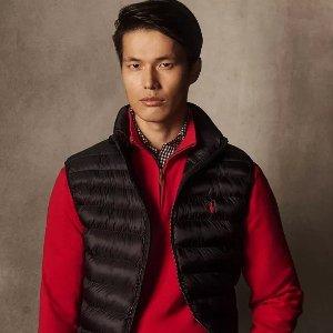 $21起 Polo领针织衫$59.99Ralph Lauren 男士专场,长款外套$99.99