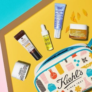 2 Deluxe Samples+Free Shippingon Any Sunscreen Purchase @ Kiehl's