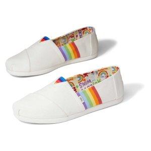Toms彩虹一脚蹬