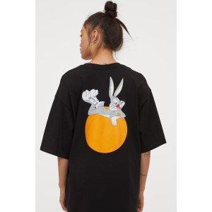 H&M黑色T恤