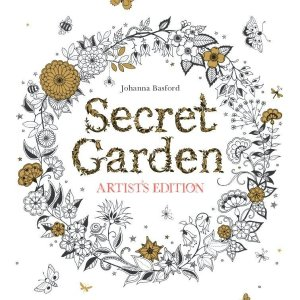 $3Secret Garden Artistu0027s Edition: 20 Drawings To Color And Frame