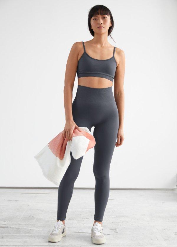 速干无痕瑜伽裤