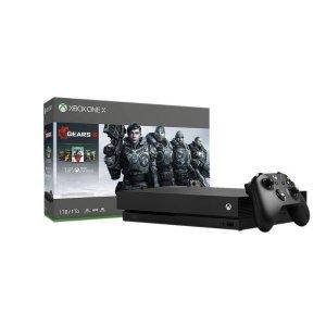 Microsoft Xbox One X - 1TB - Gears 5 Black