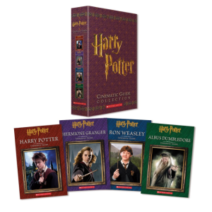 $10.43(原价$35.96)Harry Potter 哈利波特电影指南收藏精装版 4本