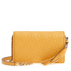 aa52720ad936 Tory BurchFleming Leather Wallet Crossbody.  233.16  348.00. Tory Burch ...
