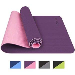 瑜伽垫 紫粉色