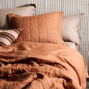 5折起 水洗棉床单$132Sheridan 暖冬无门槛大促 浴巾套装低至$10 多材质可选