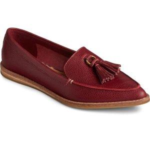 SperrySaybrook Slip On Tumbled Leather Loafer