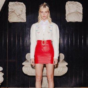 低至3.5折Alessandra Rich 时尚专区,收宇博同款毛衣、热巴同款抹胸裙