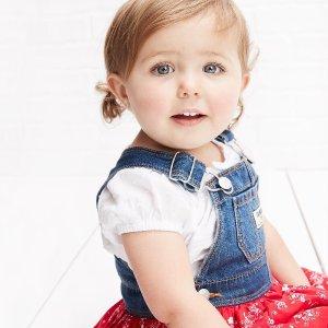 Oshkosh婴幼儿背带裙,也有小童码