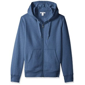 amazon essentialsMen s Full-Zip Hooded Fleece Sweatshirt 99d9c1237
