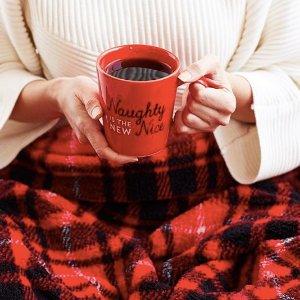 低至3折 $14起(原价$49)Indigo 精选柔软冬日毛毯,阅读毯 好价特卖