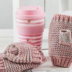 史低价:Totes 旅行杯和手套组合