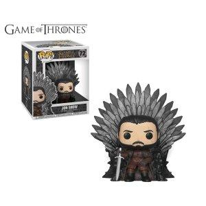HBO'S Game of ThronesGame Of Thrones Jon Snow On Iron Throne Dlx Pop Vinyl Figure
