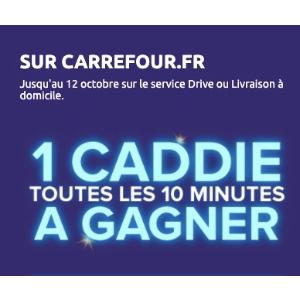 来试试运气吧 每10分钟就有一人中奖Carrefour 仅需购€5商品 就有机会获得商家买单€300产品